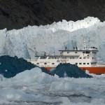 Los milenarios hielos del Glaciar San Rafael