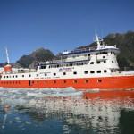 Skorpios II: el segundo hermano de los cruceros patagónicos