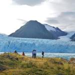 El atractivo glaciar Amalia