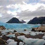 La magnífica vista del Glaciar Amalia