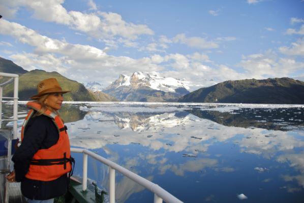 turistas patagonia